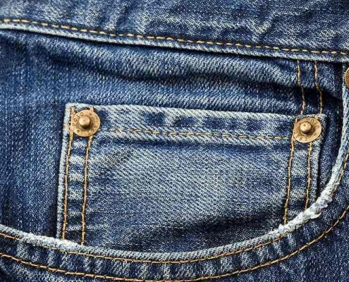 custom jean buttons and rivets
